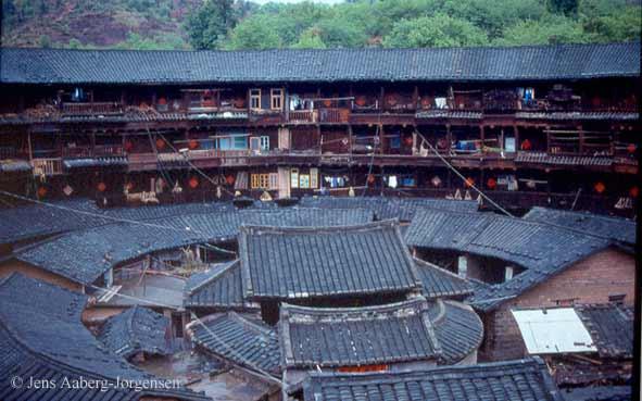 tulou-courtyard