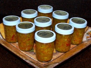 jars of chow-chow