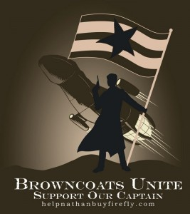 The call for Browncoats from Firefly to unite