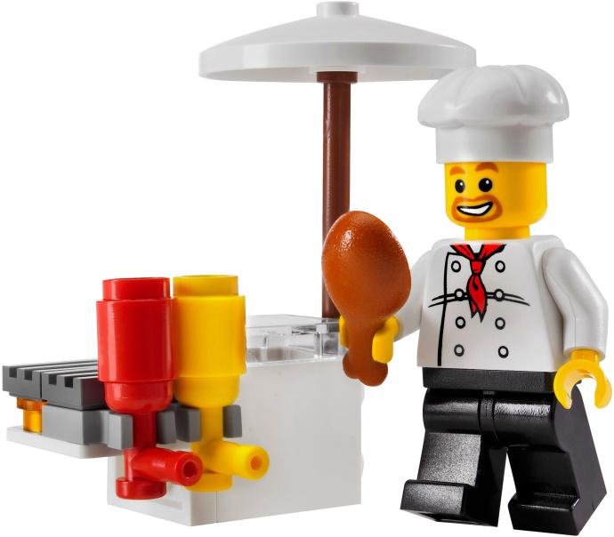 lego BBQ pit set