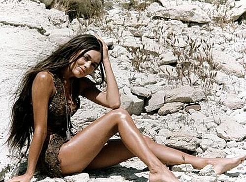 Linda Harisson and her furry bikini