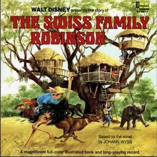 Movie poster for Swiss Family Robinson