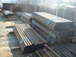 Pipe corrals supplies