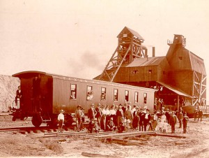 Thurber Texas Coal Mining
