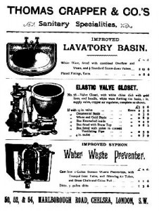 Thomas crapper poster