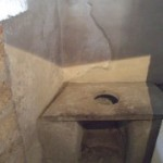 toilet in pompeii