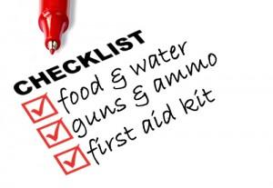 zombie checklist