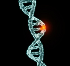 mutation of DNA double helix